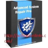 Advanced System Repair Pro Crack Plus License Key Free Download 2020