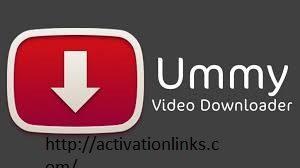 Ummy Video Downloader Crack + Serial Key Free Download 2020