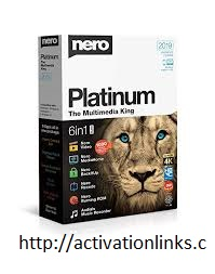 Nero Platinum 2020 Crack + License key Free Download