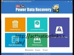 MiniTool Power Data Recovery 8.8 Crack + Serial Key Free Download 2020