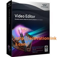Wondershare Video Editor Crack + Serial Key Free Download 2020