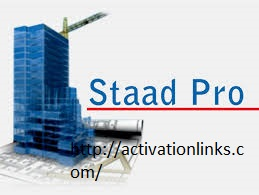 Staad Pro Crack + License Key Free Download 2020