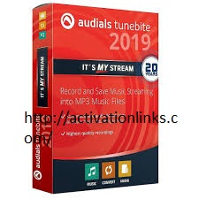 Audials Tunebite 2020 Crack + License key Free Download