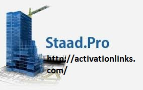 Staad Pro Crack + Activation Key Free Download 2020