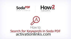 Soda PDF Crack + Serial Key Free Download 2020