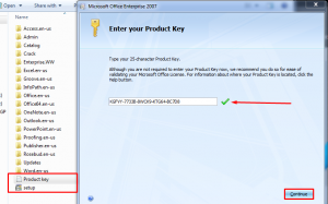 MS Office 2007 Product Key Crack With Activation Key Free Download