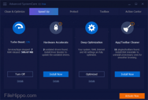 Advanced SystemCare Free 13.5.0.270 Crack With Product Key Free Download