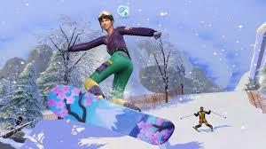 The Sims Snowy Escape